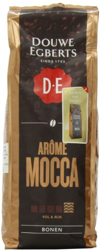Douwe Egberts Coffee Whole Beans, Mocca Aroma, 17.6 Ounce