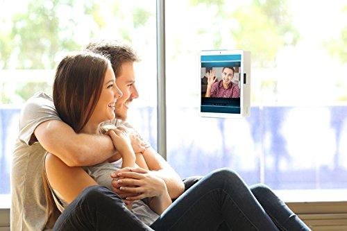 Funda para Dunobil ECO QC 3G in Negro - Innovadora Funda 4 en 1-Anti-Gravedad para Montaje en Pared, Soporte de Tableta en Vehículos, Soporte de Tableta - Protector Anti-Golpes para Coches y Paredes s Negro