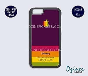 iPhone 6 Plus Case - Purple Orange Multi Stripes Design iPhone Cover by icecream design