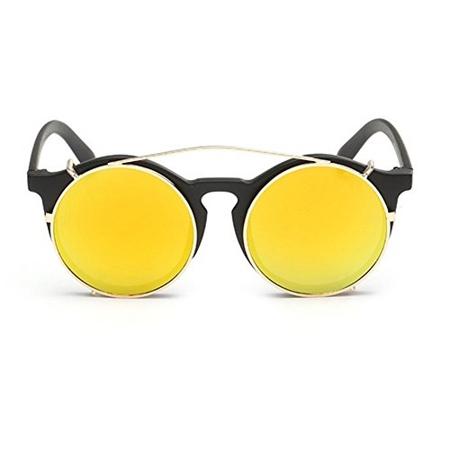 My.Monkey Unisex Fashion Round Frame Colorful Detachable - Sunglasses Julbo Reflex