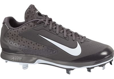Men's Nike Air Huarache Pro Low Metal Baseball Cleat Graphite/White