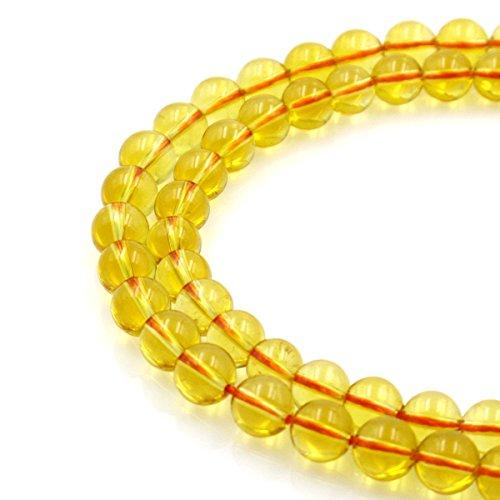 Citrine Pendant Beads - 8