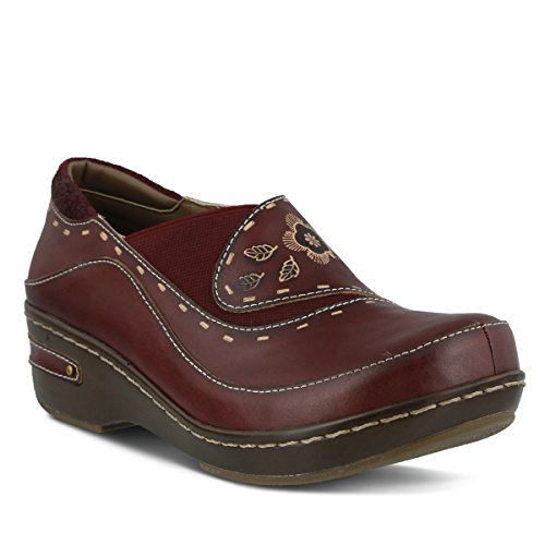 L'Artiste by Spring Step Women's Burbank Slip-On Loafer, Bordeaux, 43 EU/11.5-12 M (Spring Step Womens Star)