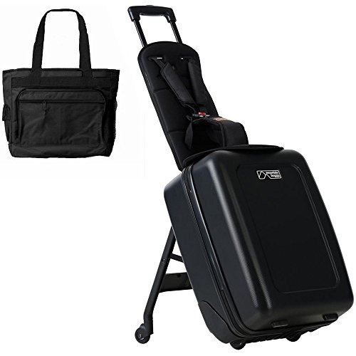Mountain Buggy Bagrider Suitcase Stroller with BONUS Diaper Bag