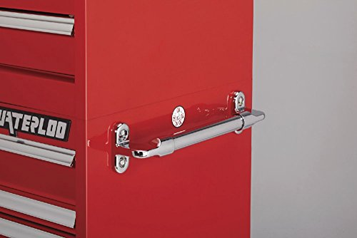 Waterloo PCA-36821RD Professional HD Series 8-Drawer Rolling Tool Cabinet, Red Finish, 36'' W by Waterloo (Image #4)
