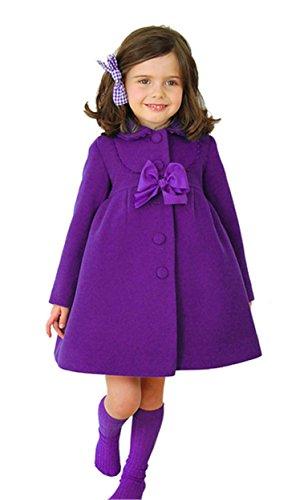 Girl Jacket Outerwear Parka Overcoat