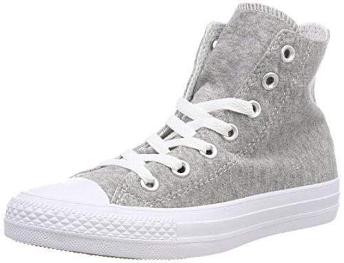 gray white Converse Gris Fitness Ctas De Chuck Chaussures Mixte Taylor 039 Cotton white Hi Adulte qqnP4pH7