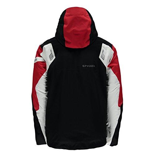 Giacca white Black Uomo Titan red Spyder fnFUxC