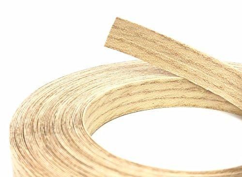 (Red Oak Wood Veneer Edge Banding Preglued 7/8