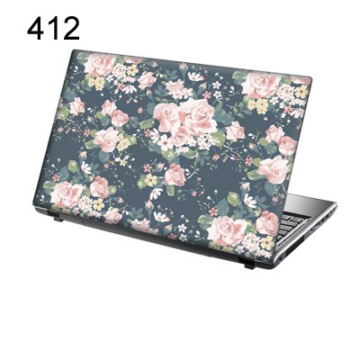 Romance Computer - TaylorHe Laptop Skin Vinyl Sticker Tea Rose Romance for 15.6 inch Laptop( 156-412leather)