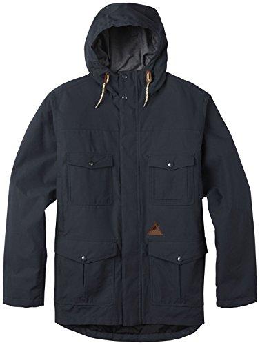 Burton Men's Match Jacket, True Black '17, Medium by Burton