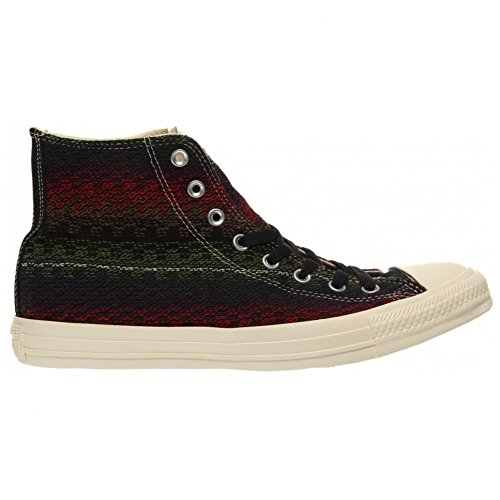 Converse CT Hi Elder Black Multi Womens Trainers - 144714C
