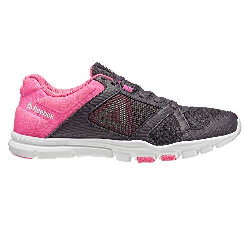 Grey Smoky 5 10 Shoes Pink Grey Women's 5 Reebok 000 Mt Volcano Trainette Yourflex Fitness Acid White YPx0Ytq8w
