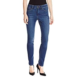 NYDJ Women's Petite Samantha Slim Jeans In Echo Valley Wash, Echo Valley, 0 Petite
