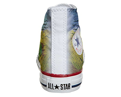 Converse All Star chaussures coutume mixte adulte (produit artisanal) Van Gogh