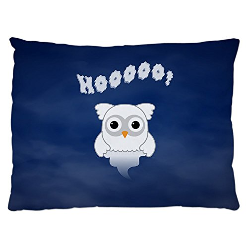 Indoor Luxury Plush Dog Bed Spooky Little Ghost Owl in the -
