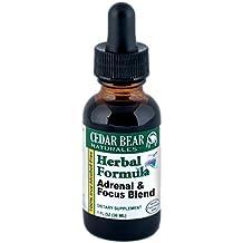 Adrenal & Focus Blend, 1 oz - liquid herbal supplement by Cedar Bear Naturales