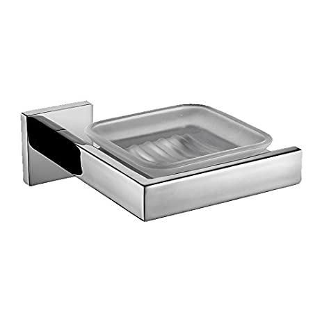 yutu q75 modern polished chrome stainless steel soap dish holder wall mounted bathroom accessories chrome