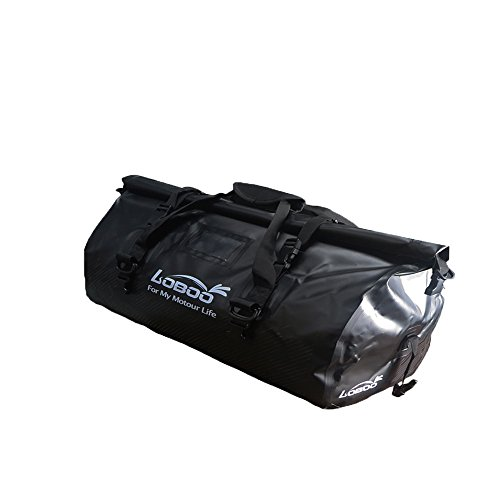 Loboo Waterproof Bag Expedition Dry Duffel Bag Motorcycle Luggage For Travel,Sports, Cycling,Hiking,Camping (90l, -