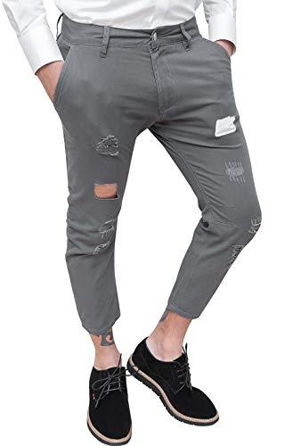 Jeans Evoga Homme Evoga 48 Jeans Gris fqzOEx