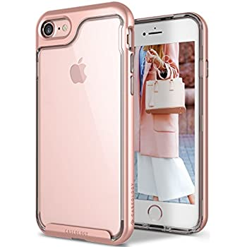 Caseology Skyfall Series iPhone 7 / 8 Cover Case with Clear Slim Protective for Apple iPhone 7 (2016) / iPhone 8 (2017) - Rose Gold