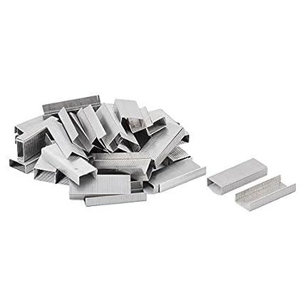 Amazon.com : Proyecto de eDealMax Metal Papel de oficina Libro Documento sujetadores grapas 3000pcs tono de Plata : Office Products