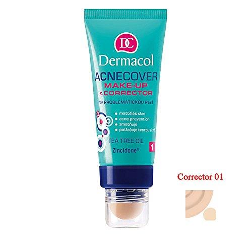 Dermacol Cosmetics Acnecover Make-up & Corrector with Tea Tree Oil 30ml (CORRECTOR 01)
