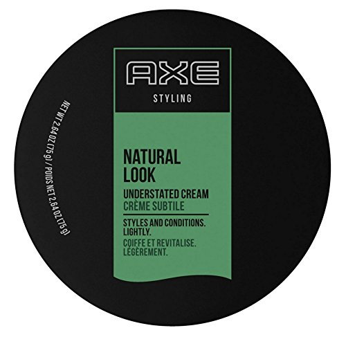 Axe  Styling Cream, Natural, Understated Look, 2.64Ounce (Pack of (Best Axe Men Hair Products)