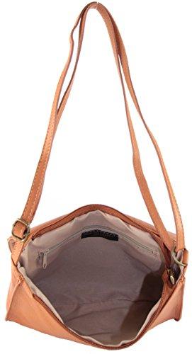 histoireDaccessoires - Mini bolso de cuero Mujer - SA000123GV-Dana Camel