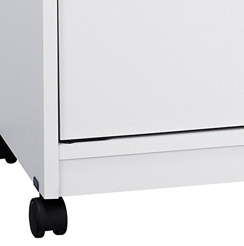 Ameriwood Landry Kitchen Microwave Cart, White by Ameriwood Home (Image #3)