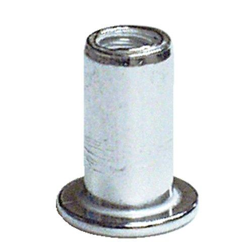 100-PC 6 x 32 Aluminum Nut Rivet Pack AES Industries NT-0140-1