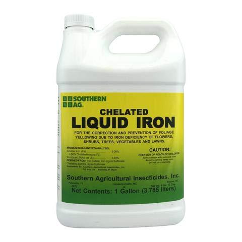 (Southern Ag Chelated Liquid Iron, 128oz - 1 Gallon)