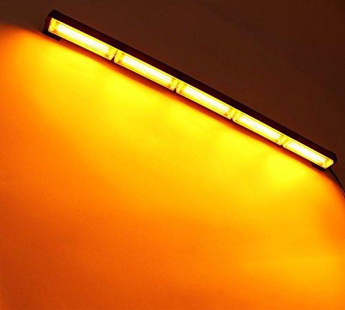 - HEHEMM 90W COB LED Emergency Warning Light Bar Traffic Vehicle Flash Strobe Lamp