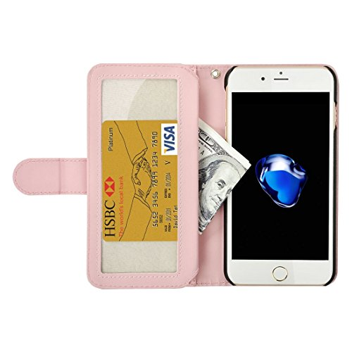 monnaie Plain Simple Et Cuir 7 Fashion Porte amp; Horloge Carte Plus Avec Size Horizontale Housse Cordon Iphone Ip7p7780f Folding Slot Pour Weave En qYH5Y