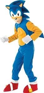 Rubie's - Sonic el Erizo, Traje para niños de 3-4 años (disfraz)