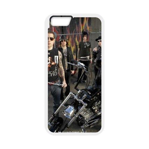 Avenged Sevenfold coque iPhone 6 4.7 Inch Housse Blanc téléphone portable couverture de cas coque EBDOBCKCO12944