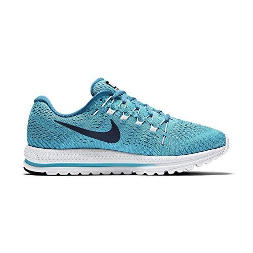 Nike Heren Air Zoom Vomero 12 Hardloopschoenen Werk Blauw / Donker Obsidiaan / Binair Blauw