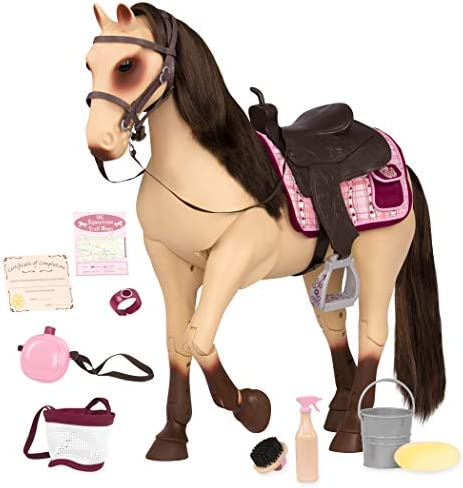 Thoroughbred Horse Pony Vintage Soft Toy Knitting PATTERN Saddle /& Harness 50