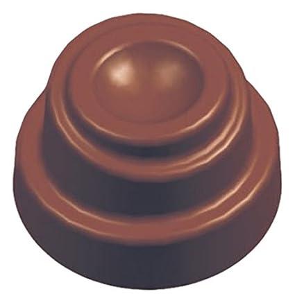 Moldes, Silicona Helter Skelter – Molde para Bombones de policarbonato, Transparente, 11 g