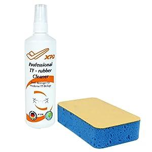 XPD Spar-Set TT-REINIGER (Reinigungsspray + Reinigungsschwamm) für TT-Beläge...