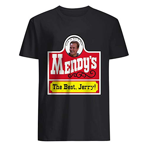 USA 80s TEE Mendy's The Best, Jerry Shirt Black