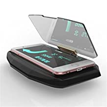 ONX3 Motorola moto z style Universal Car HUD Holder Bracket For Mobile Phone Display GPS Navigation Image Reflector Head Up Display Projector