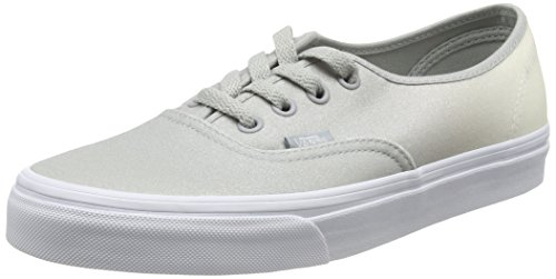 Vans Authentic, Zapatillas Unisex Adulto Gris (2 Tone Glitter white/high-rise)