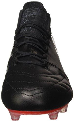 adidas X 16.1 Leather Fg, Botas de Fútbol para Hombre Negro (Core Black/footwear White/red)
