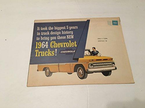 - 1964 CHEVROLET TRUCKS BROCHURE