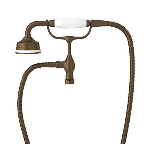 English Bronze Hand Shower - Perrin & Rowe English Bronze Hand Shower and Cradle