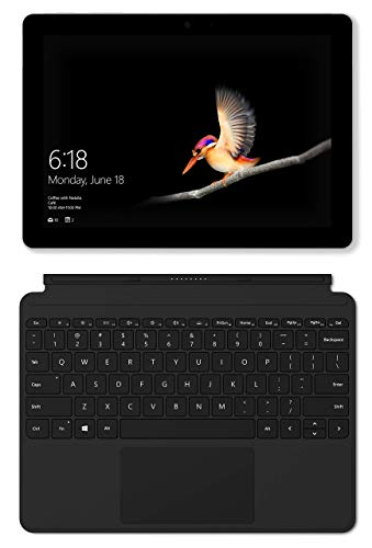 Microsoft Surface Go with Type Cover Bundle 10'' Touchscreen PixelSense Intel Pentium Gold 4415Y 128GB SSD Windows 10 by Microsoft (Image #3)