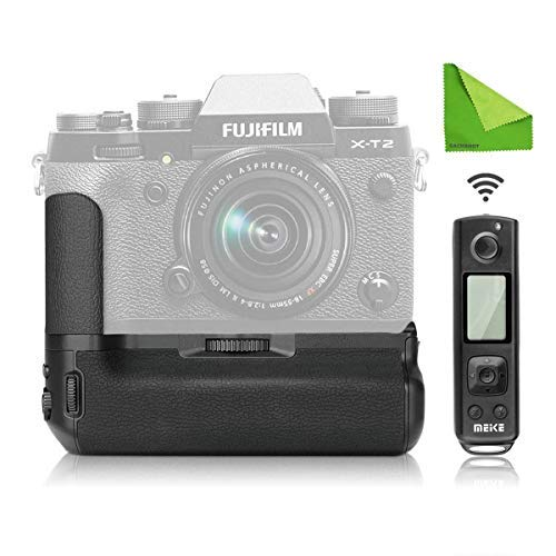 Meike MK-XT2 Pro Battery Grip with 2.4G Wireless Remote for Fujifilm X-T2 as VPB-XT2