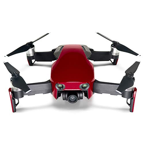 Wrapgrade Poly Skin for DJI Mavic Air | Unit A: Colored Parts and Rear Trim (Japan RED)