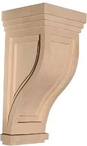Inviting Home SC1LWOK Large White Oak Mission Corbel